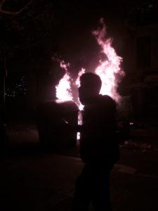 fire in barcelona